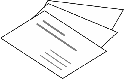 Die Kopie Visitenkarten